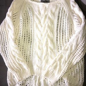 Great Condition Asymmetrical Sweater - Medium